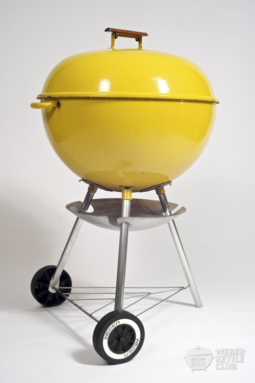 Yellow weber kettle bbq grill ebay for Weber grill danemark