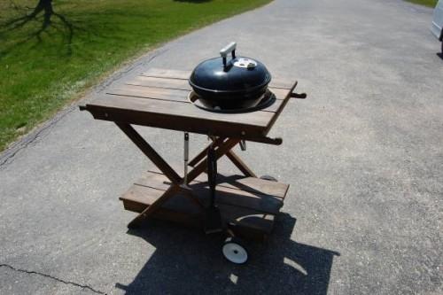 Weber Smokey Joe Table.Table For Smokey Joe Weber Aftermarket Or Diy